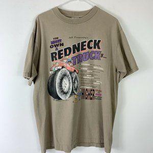 Vtg 90s Jeff Foxworthy Redneck Truck Mens Sz L